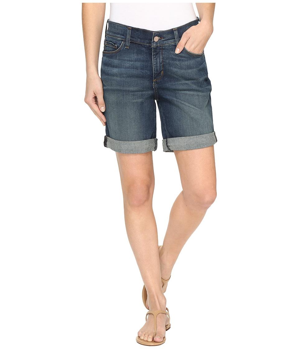 NYDJ - Jessica Boyfriend Shorts in Oak Hill (Oak Hill) Women's Shorts