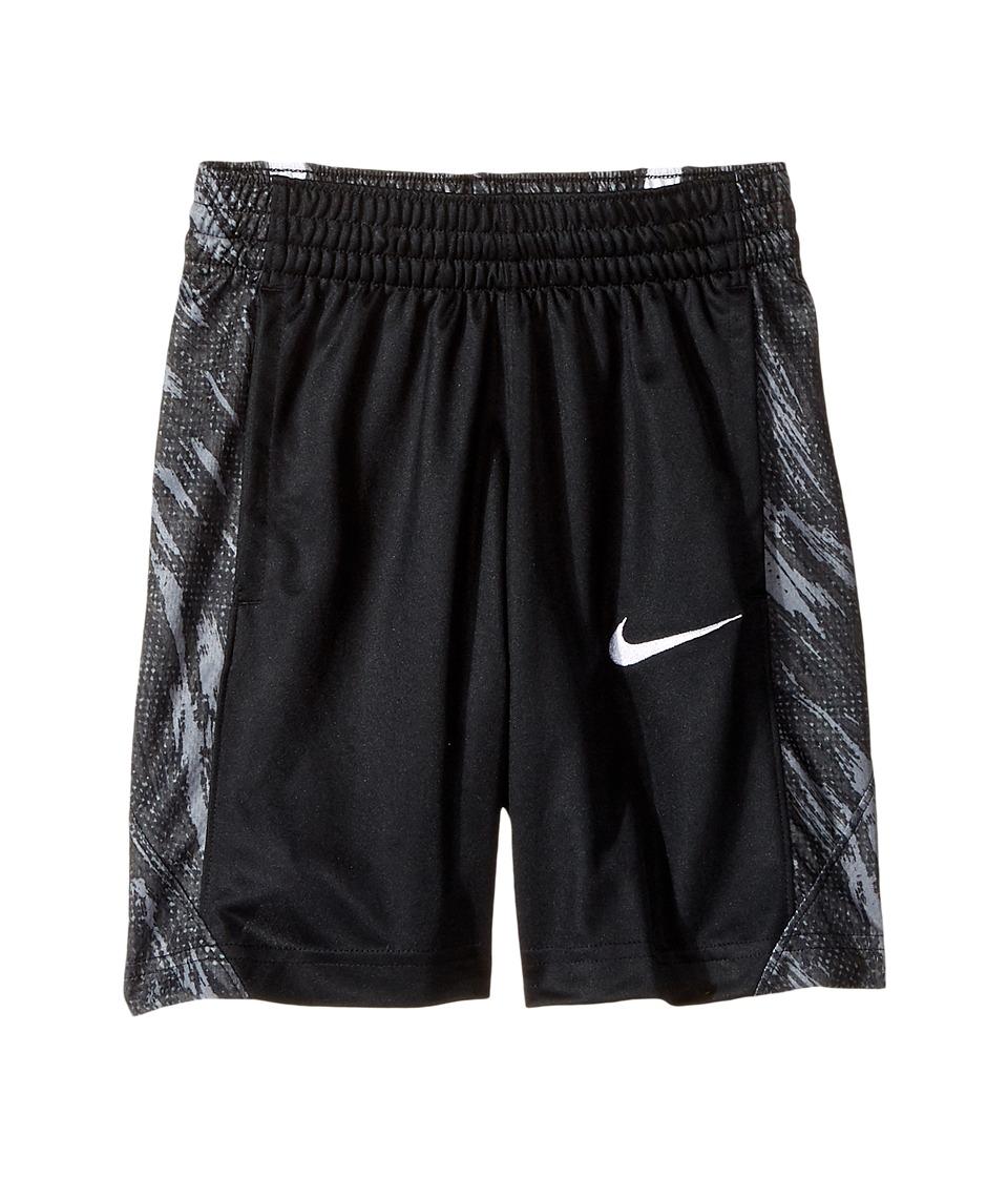 Nike Kids - Dry Avalanche Graphic Basketball Short (Little Kids/Big Kids) (Black/Cool Grey/Black/White) Boy's Shorts