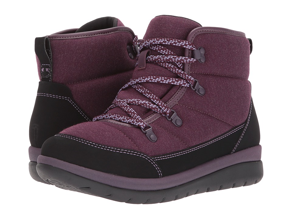 Clarks - Cabrini Cove (Aubergine) Women's Shoes