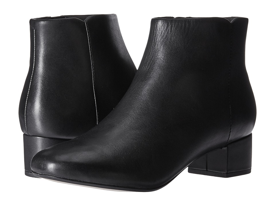 Clarks - Chartli Lilac (Black Leather) Women's Shoes