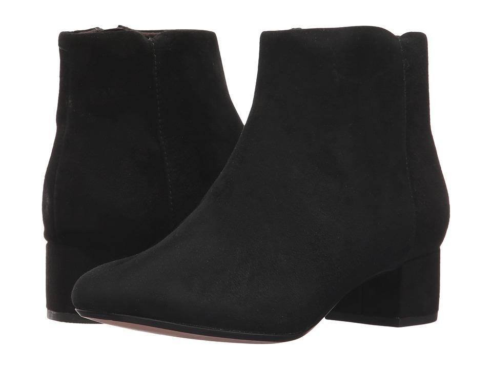 Clarks - Chartli Lilac (Black Suede) Women's Shoes