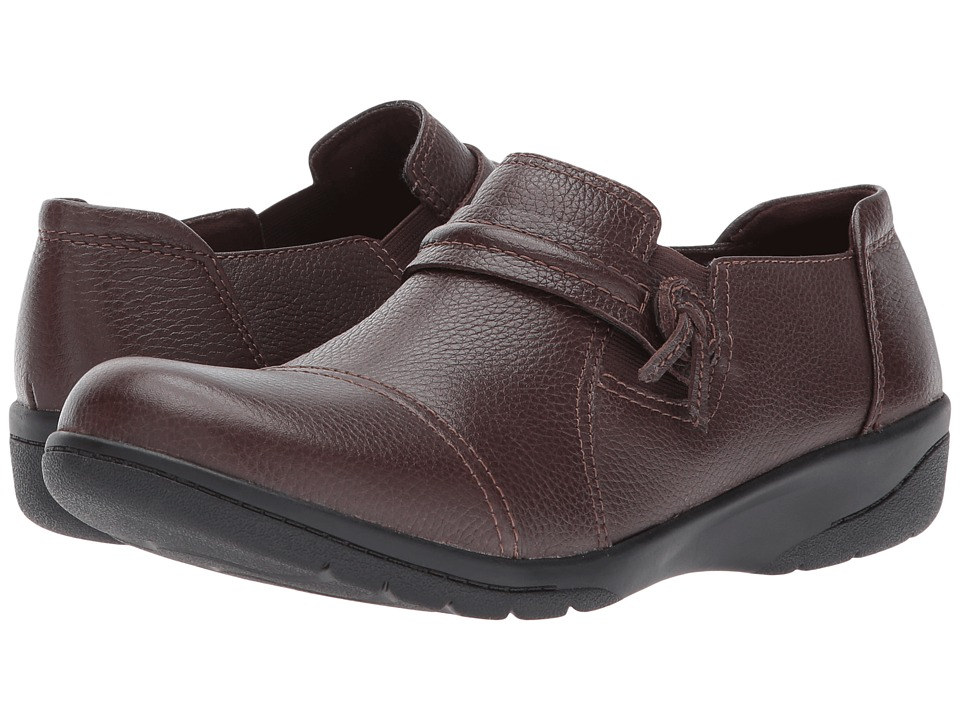 Clarks - Cheyn Madi (Dark Brown Tumbled Leather) Women's Shoes