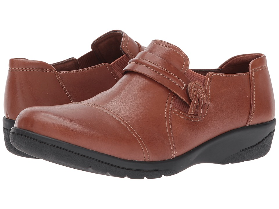 Clarks - Cheyn Madi (Dark Tan) Women's Shoes