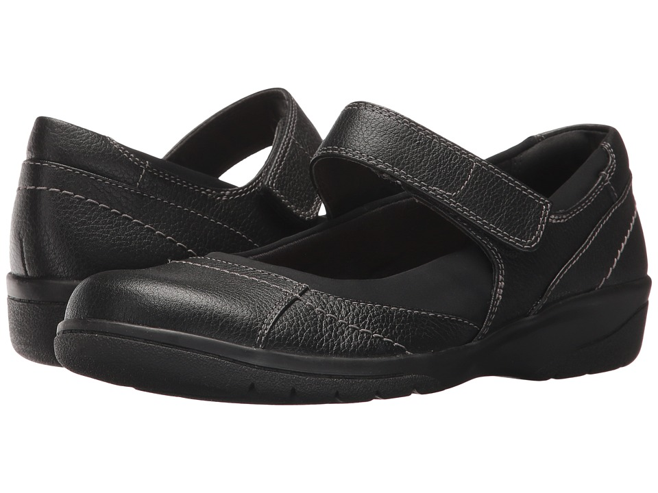 Clarks - Cheyn Web (Black Tumbled) Women's Shoes