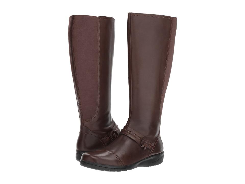 Clarks - Cheyn Whisk (Dark Brown) Women's Shoes