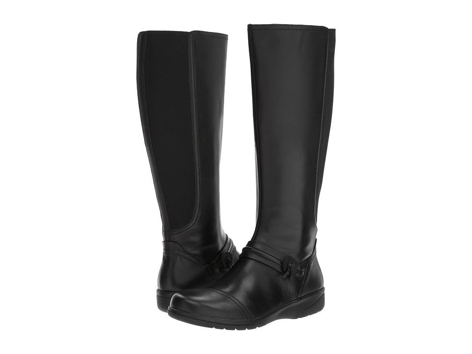 Clarks - Cheyn Whisk (Black) Women's Shoes