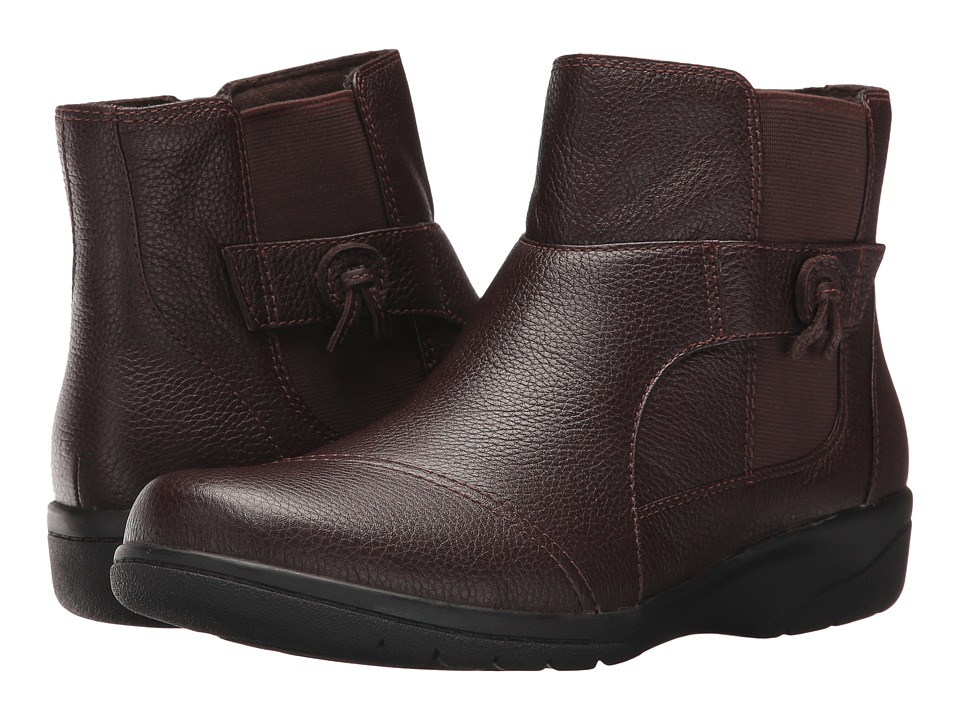 Clarks Cheyn Work (Dark Brown) Women