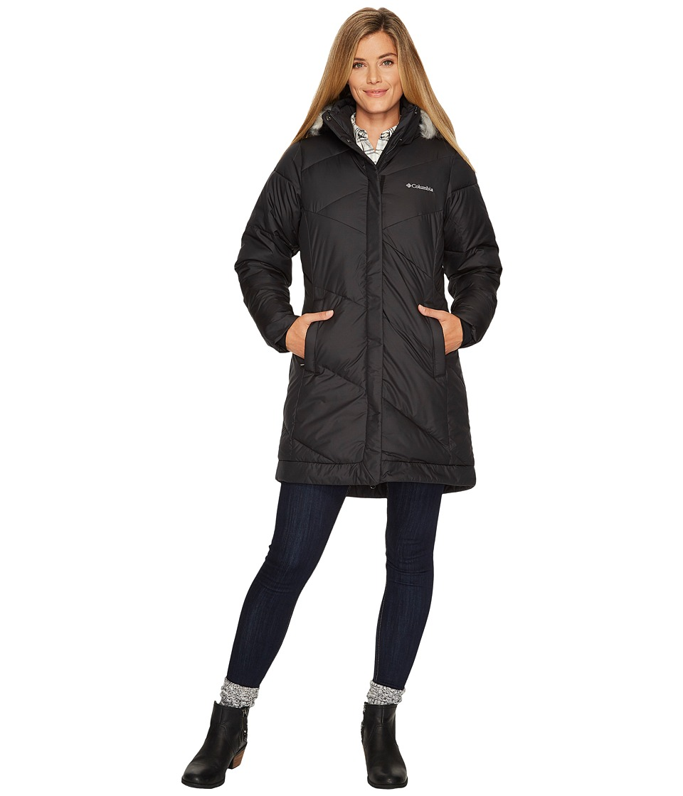 Columbia - Snow Eclipsetm Mid Jacket (Black 1) Women's Coat