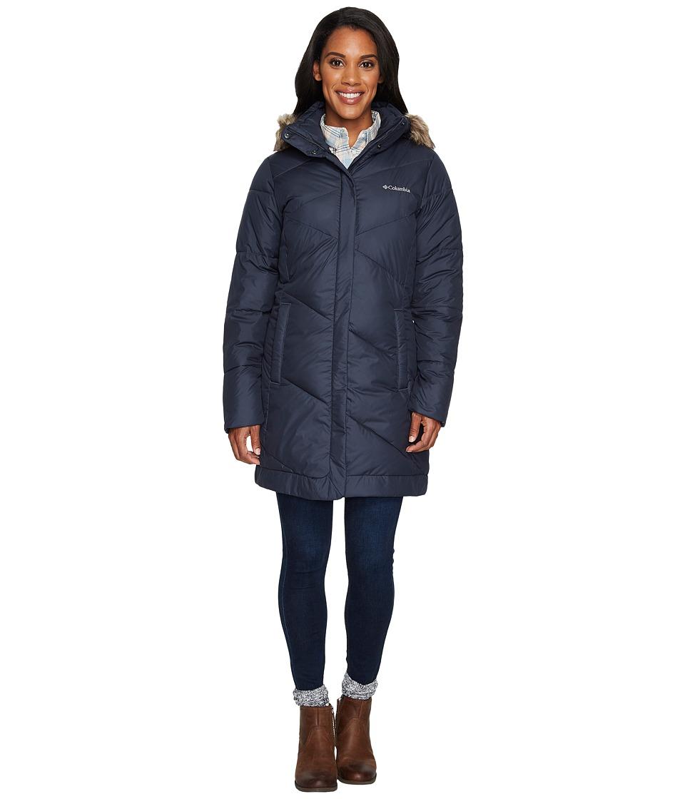 Columbia - Snow Eclipsetm Mid Jacket (India Ink) Women's Coat