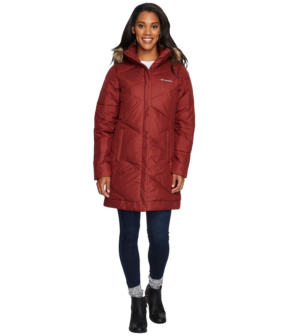 Columbia - Snow Eclipsetm Mid Jacket (Deep Rust) Women's Coat