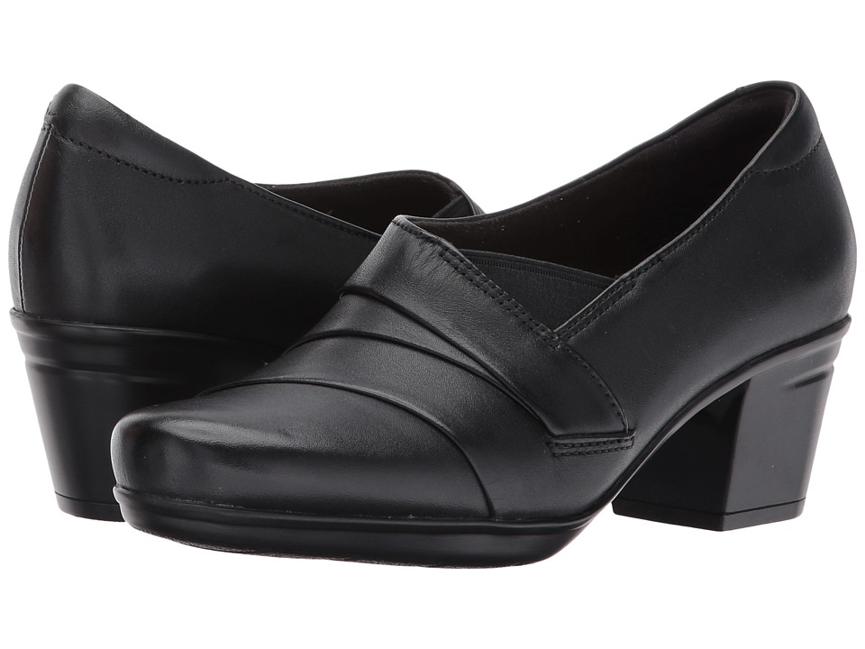 Clarks - Emslie Warbler (Black) Women's Shoes