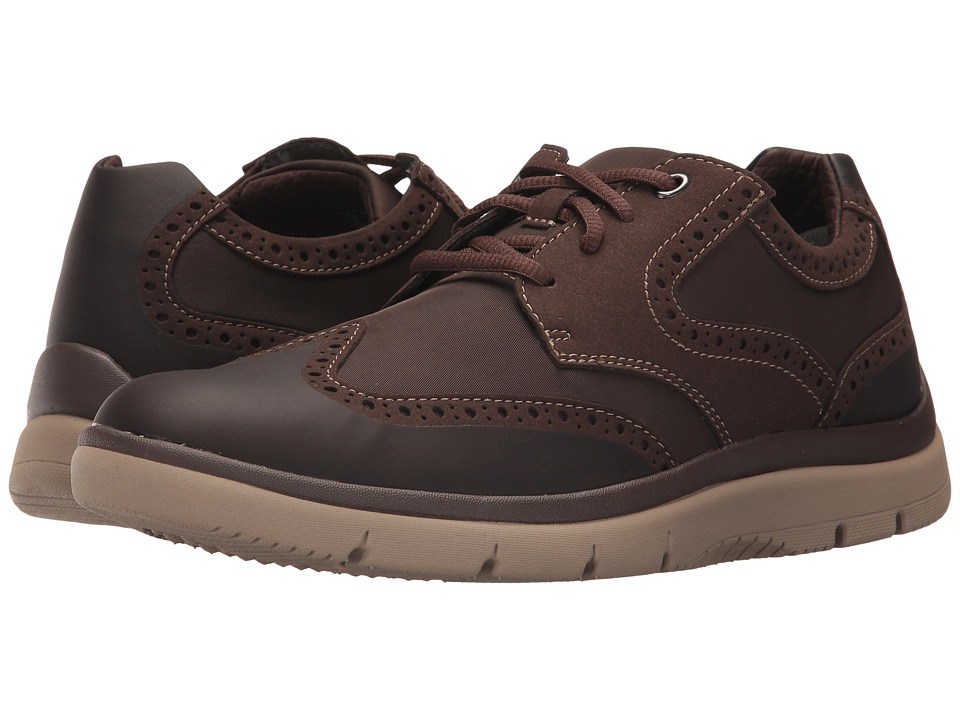 Clarks - Tunsil Wing (Brown) Men's Shoes