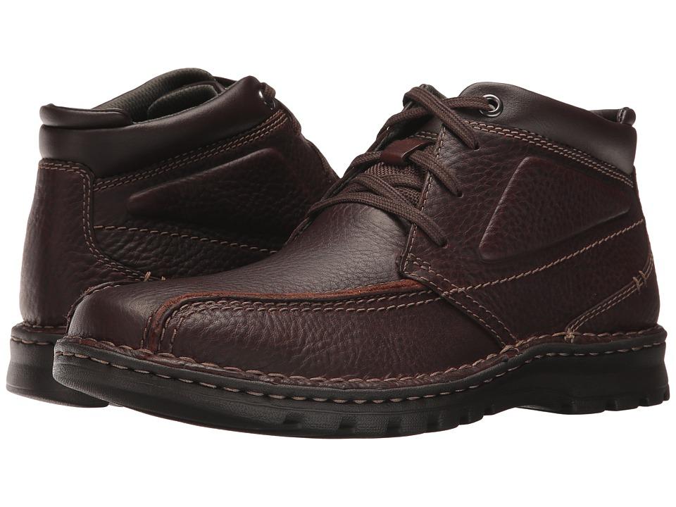 Clarks - Vanek Rise (Brown Oily) Men's Shoes