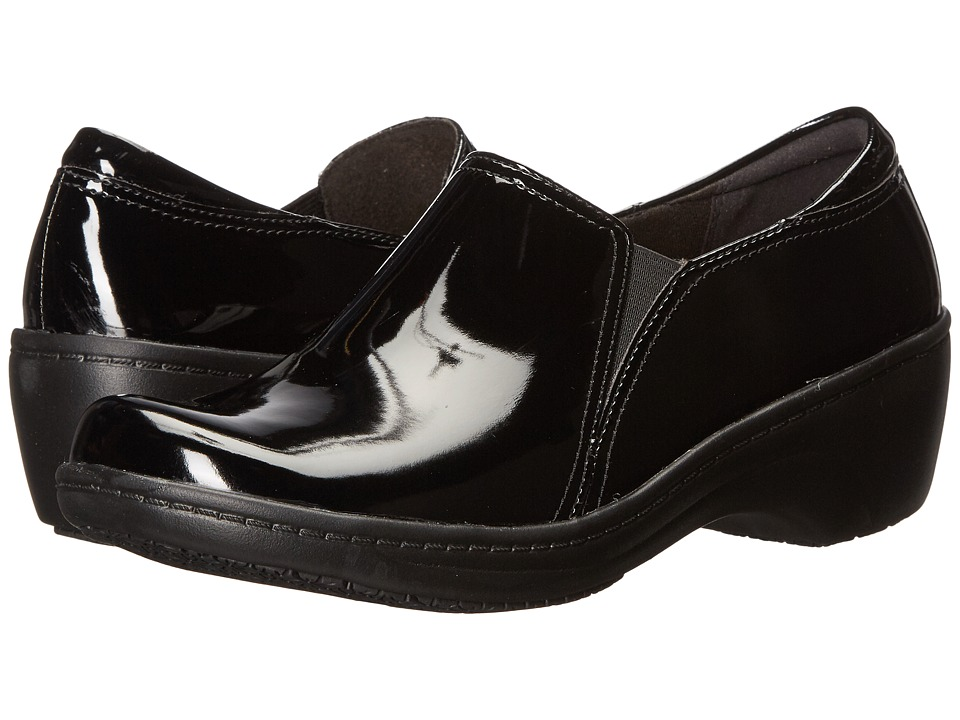 Clarks - Grasp Chime (Black/Black Patent) Women's Shoes