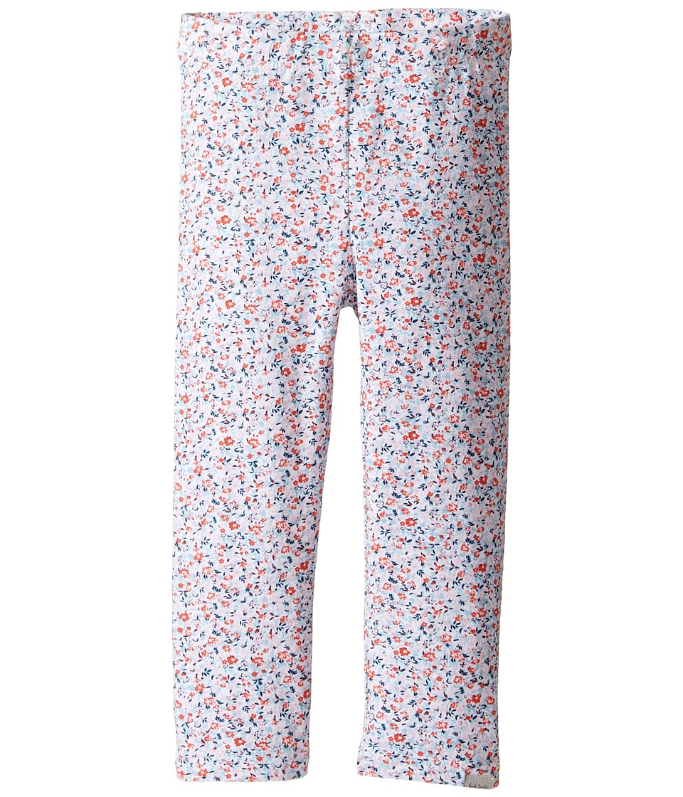 Paul Smith Junior - Liberty Printed Leggings (Toddler/Little Kids) (Powder Pink) Girl's Clothing
