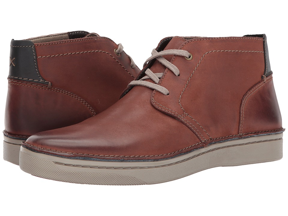 Clarks - Kitna Mid (Mahogany Nubuck) Men's Shoes
