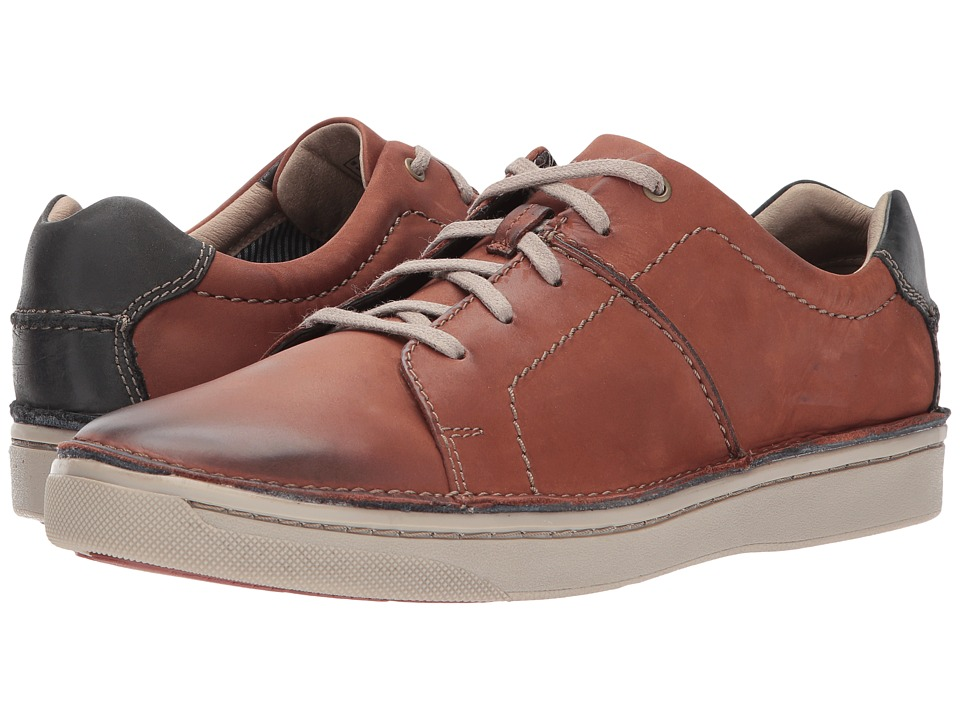 Clarks - Kitna Walk (Mahogany Nubuck) Men's Shoes