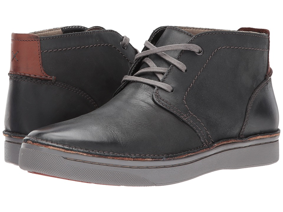 Clarks Kitna Mid (Black Nubuck) Men