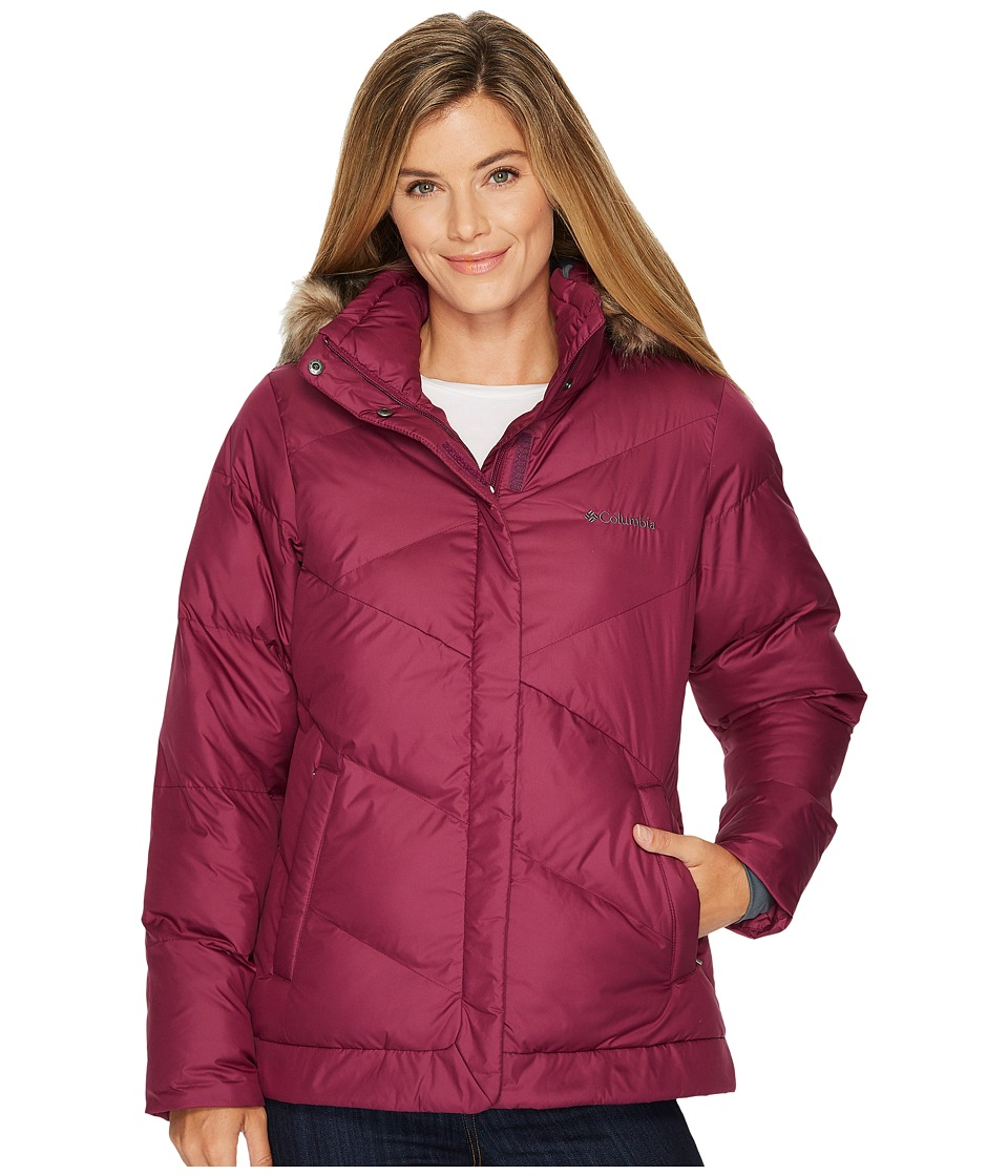 Columbia - Snow Eclipsetm Jacket (Dark Raspberry) Women's Coat