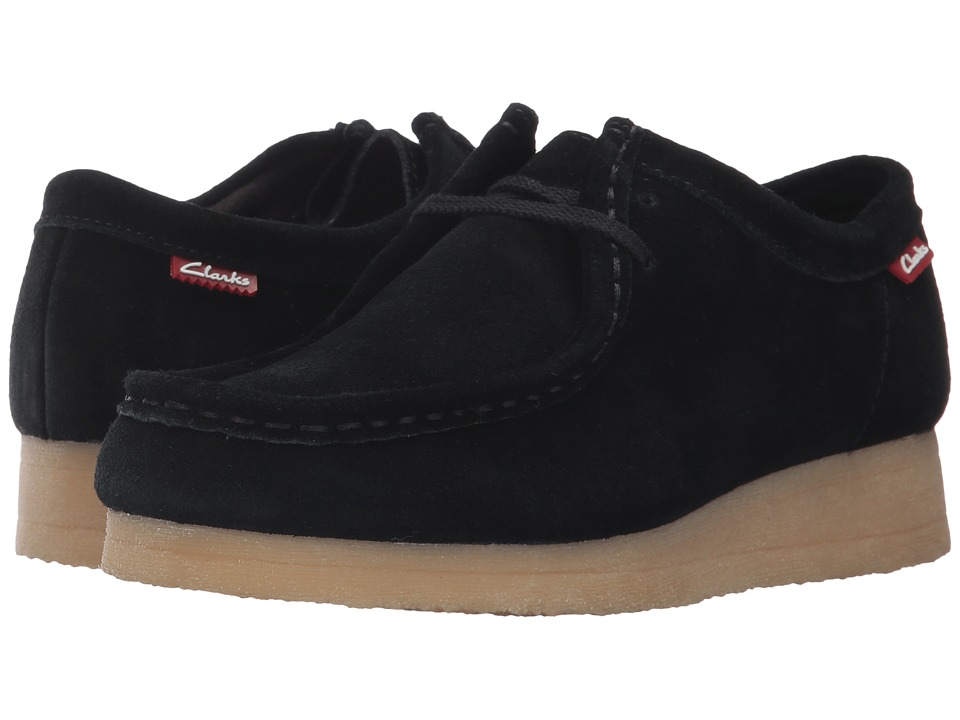 Clarks - Padmora (Black Suede 1) Women's Shoes