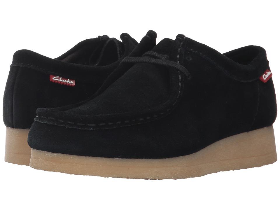 Clarks - Padmora (Black Suede 1) Women's Shoes