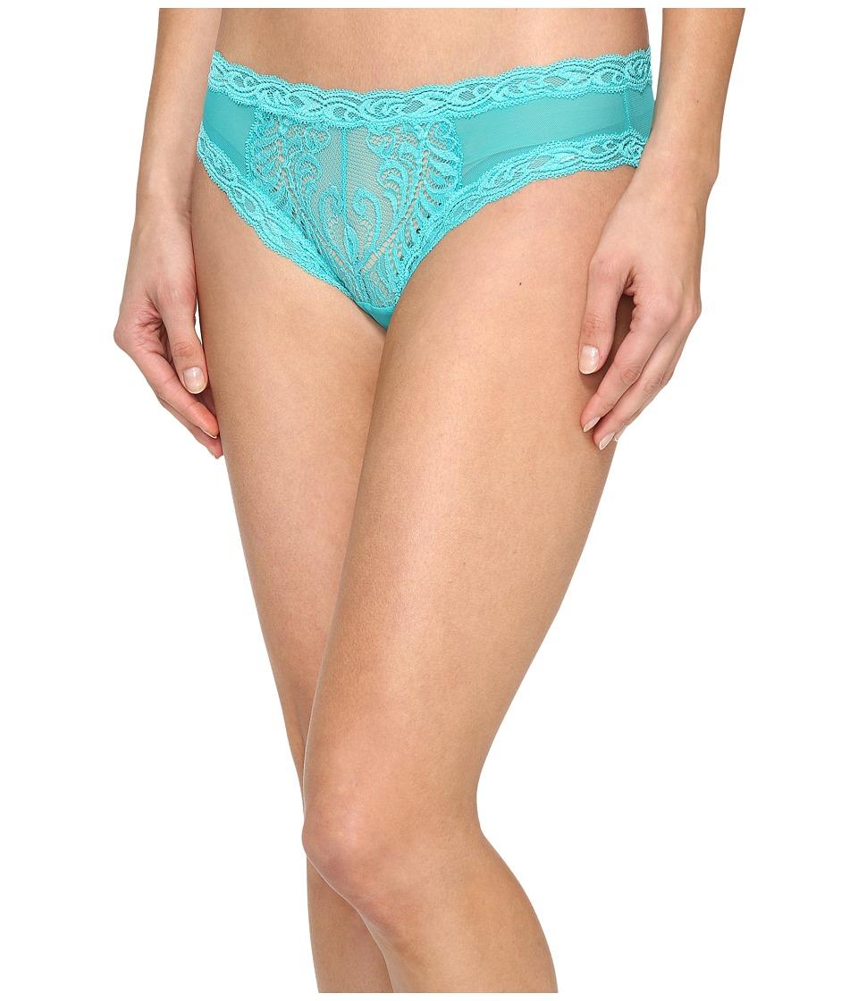 Natori - Feathers Hipster (Gem Turquoise) Women's Underwear