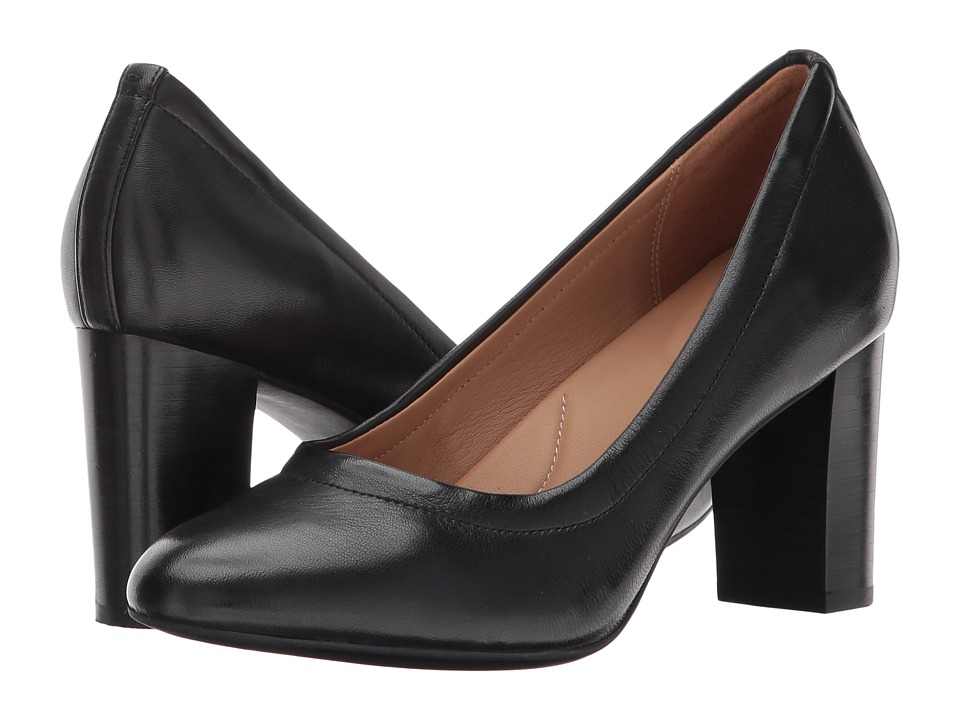 Clarks - Chryssa Ari (Black Leather) High Heels