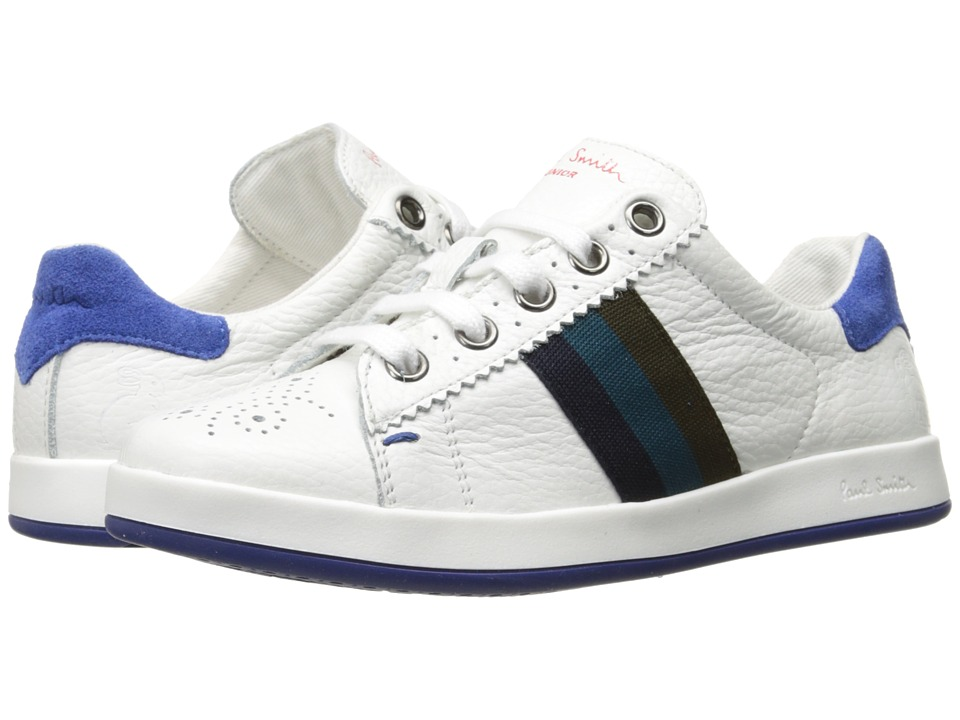 Paul Smith Junior - White Oxford Sneakers (Little Kid) (White) Boys Shoes