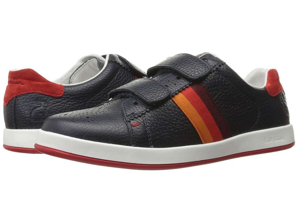 Paul Smith Junior - Navy Classic Ps Sneakers (Little Kid/Big Kid) (Navy) Boys Shoes