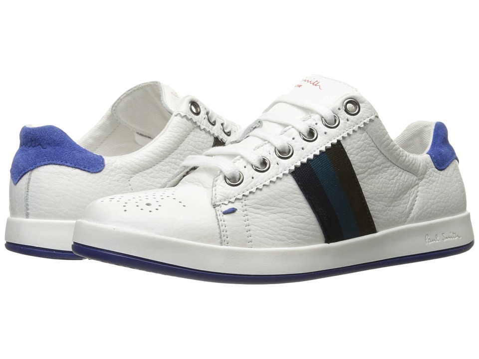 Paul Smith Junior - White Oxford Sneakers (Little Kid/Big Kid) (White) Boys Shoes