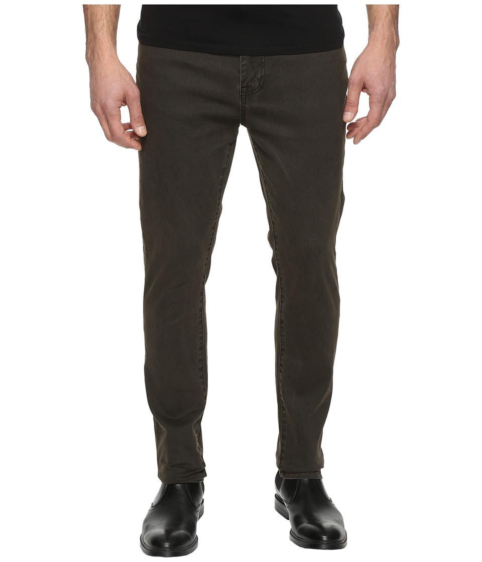 Kenneth Cole Sportswear - Skinny Denim in Army Green (Army Green) Men's Jeans
