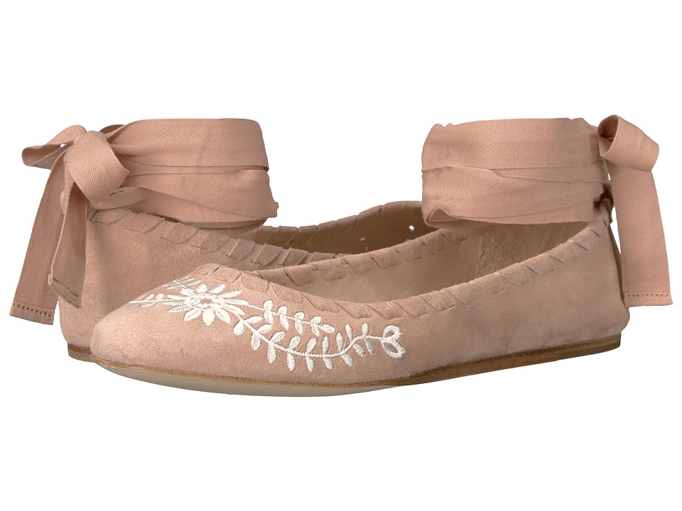 Via Spiga Baylie2 (Blush Suede) Women