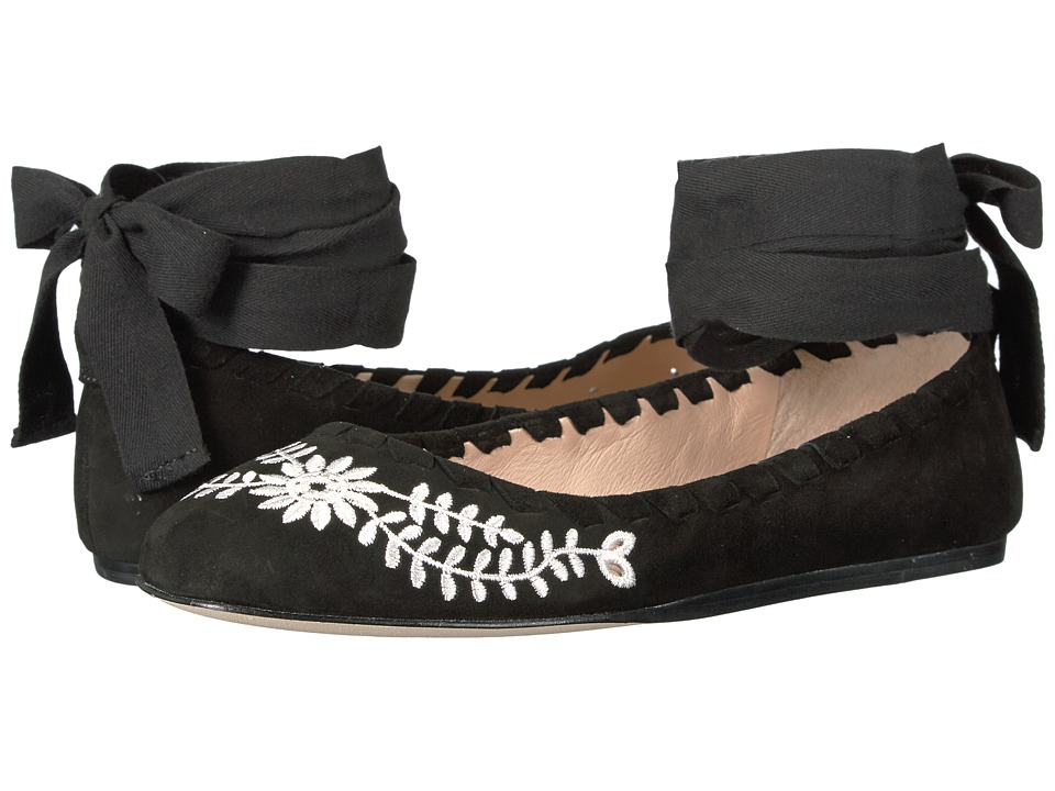 Via Spiga Baylie2 (Black Suede) Women