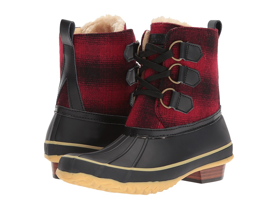 Chooka Ballard Buffalo Duck Boot (Red) Women
