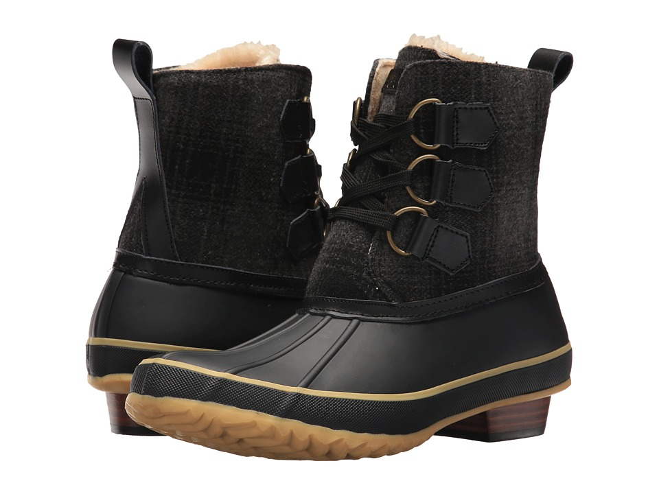 Chooka Ballard Buffalo Duck Boot (Black) Women
