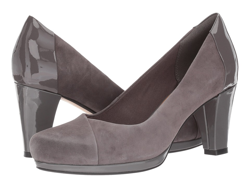 Clarks - Chorus Carol (Dark Grey Combo) High Heels