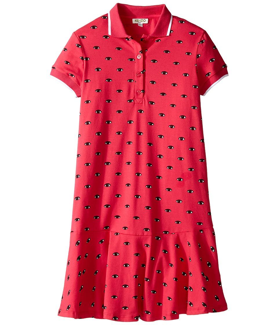 Kenzo Kids - Bell O Robe (Big Kids) (Fuchsia) Girl's Robe