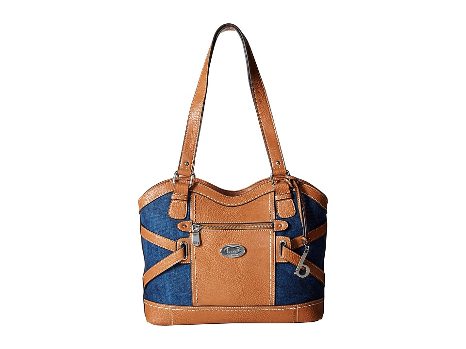 b.o.c. - Park Slope Denim Tote (Denim/Slope) Tote Handbags