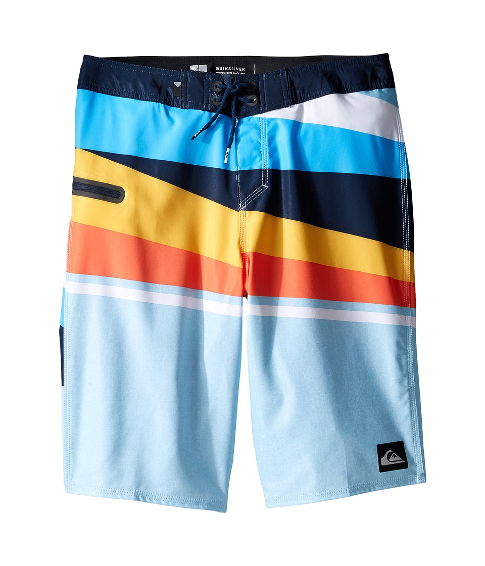 Quiksilver Kids - Slash Vee Youth 19 (Big Kids) (Angel Falls) Boy's Swimwear