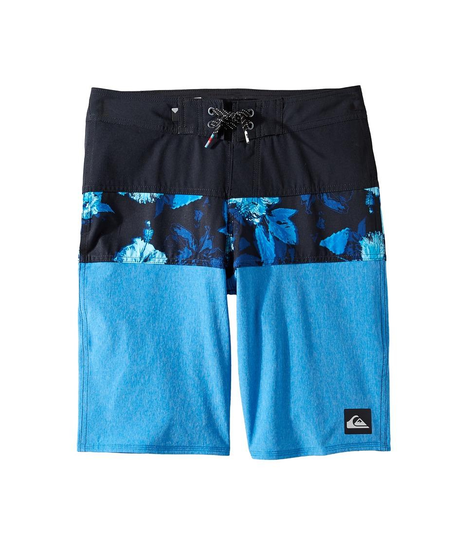 Quiksilver Kids - Panel Blocked Vee Youth 18 (Big Kids) (Imperial Blue) Boy's Swimwear