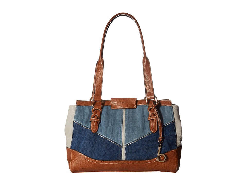 b.o.c. - Fremont Tote (Denim/Dove/Saddle) Tote Handbags