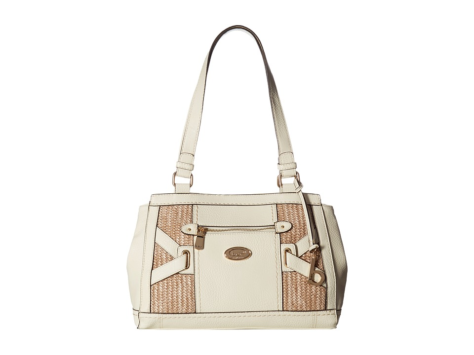 b.o.c. - Park Slope Straw Tote (Bone/Straw) Tote Handbags