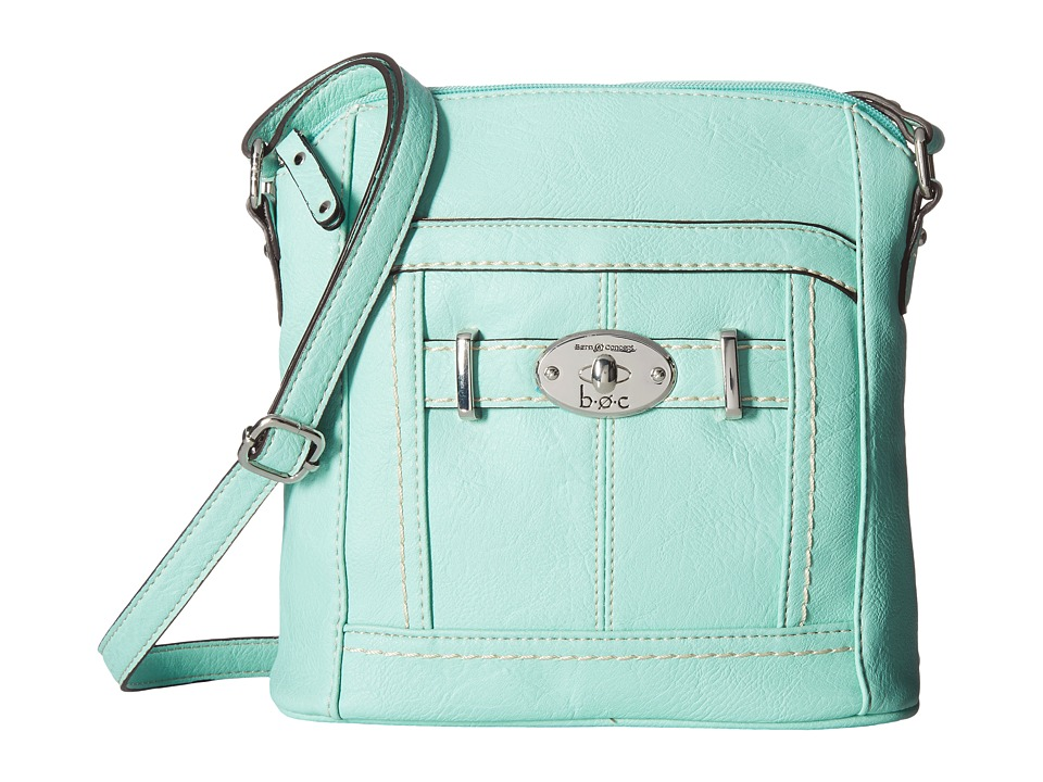 b.o.c. - Brashton Crossbody w/ Power Bank (Mint) Cross Body Handbags