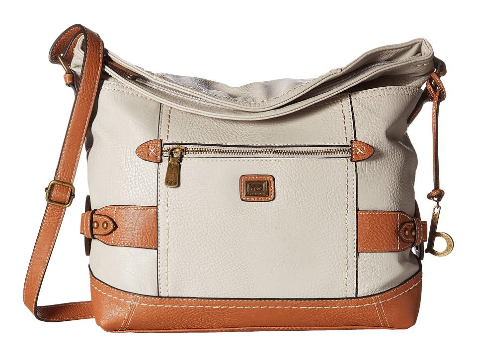 b.o.c. - Corbett Square Crobo (Dove/Saddle) Cross Body Handbags