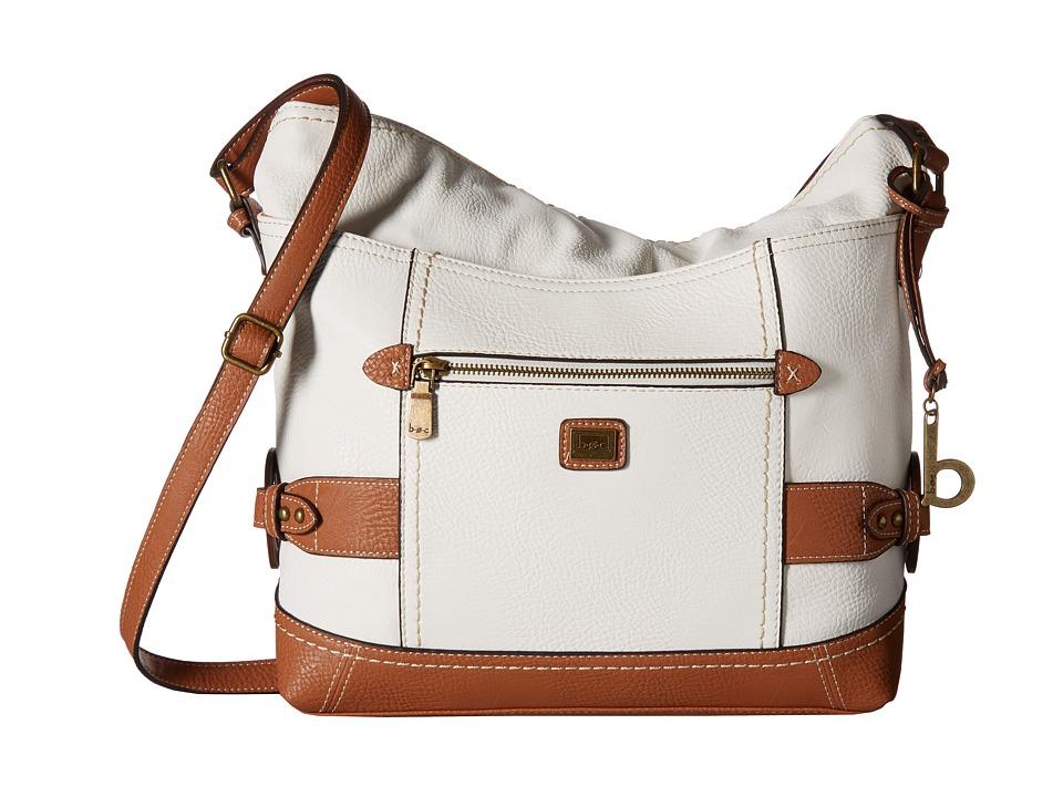 b.o.c. - Corbett Square Crobo (White/Saddle) Cross Body Handbags