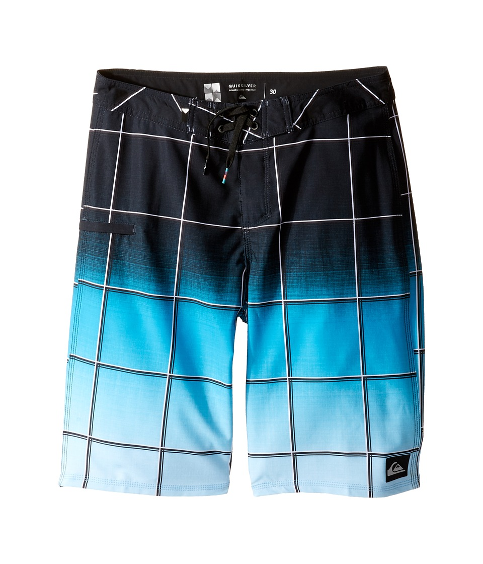 Quiksilver Kids - Everyday Electric Vee 19 Boardshorts (Big Kids) (Black) Boy's Swimwear