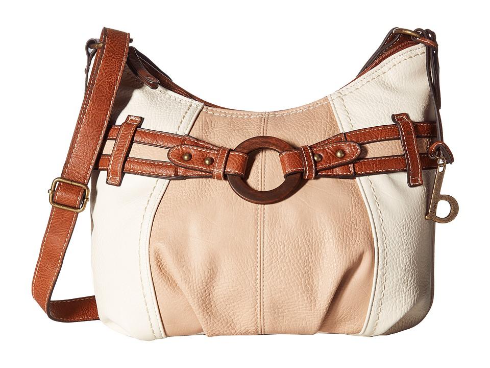 b.o.c. - Nayarit CB Crobo (Bone/Stone/Saddle) Cross Body Handbags