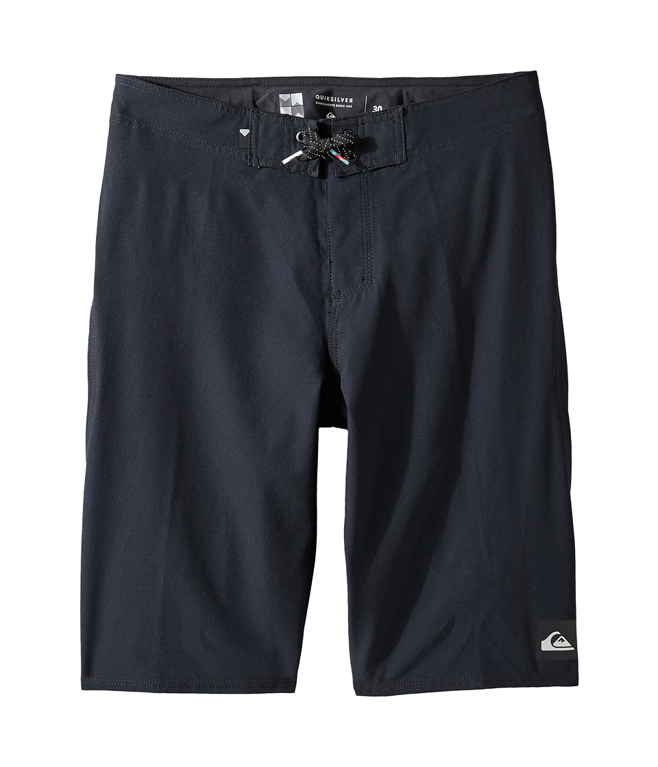 Quiksilver Kids - Everyday Kaimana Youth 19 (Big Kids) (Black) Boy's Swimwear