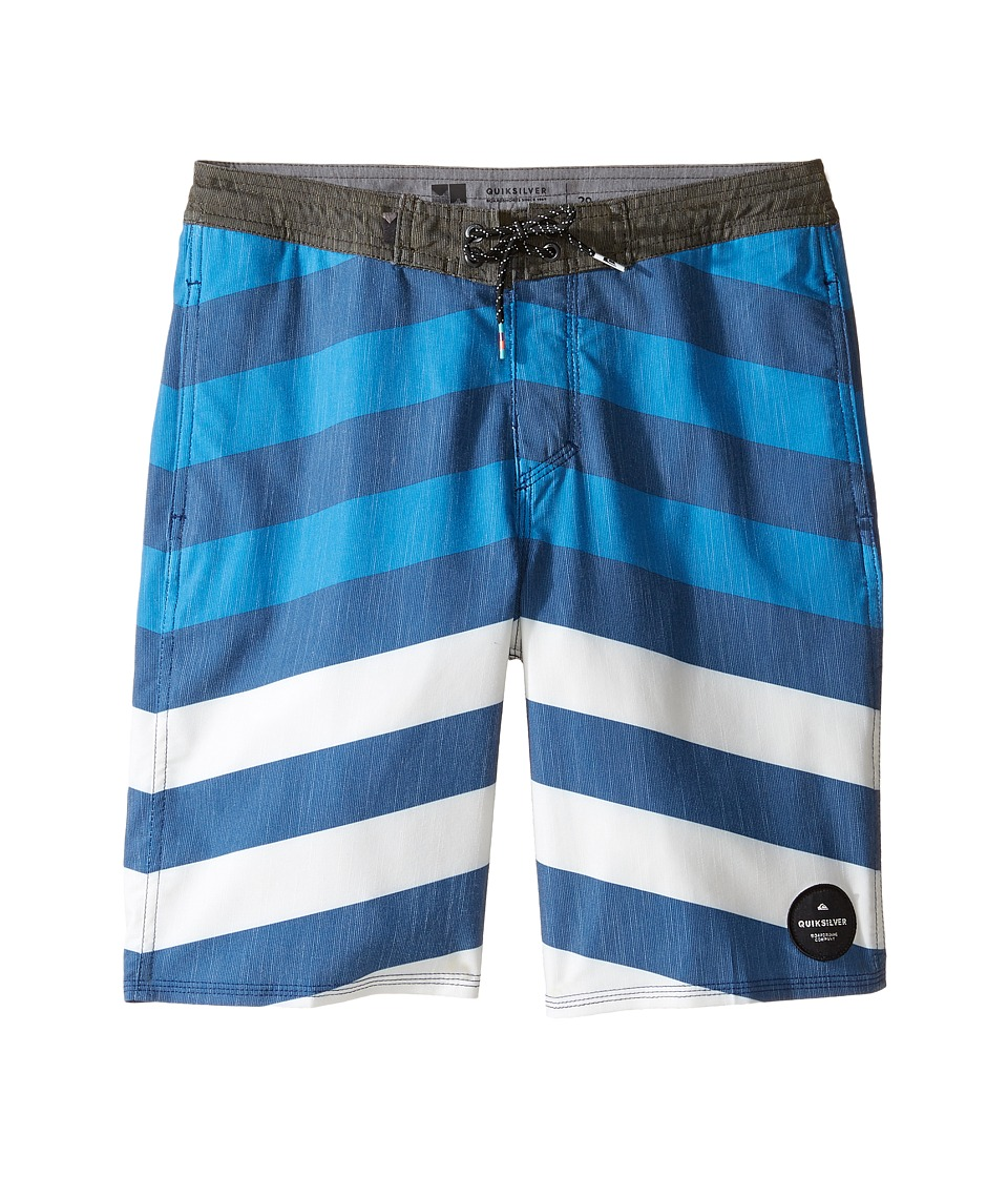 Quiksilver Kids - Crypt Brigg Beach Shorts Youth 17 (Big Kids) (Estate Blue) Boy's Swimwear