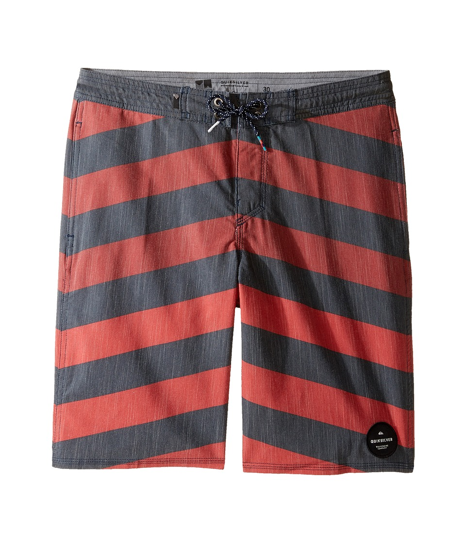 Quiksilver Kids - Crypt Brigg Beach Shorts Youth 17 (Big Kids) (Navy Blazer) Boy's Swimwear